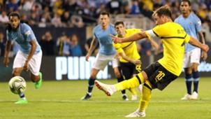 Manchester City Borussia Dortmund International Champions Cup 2018 Mario Gotze Penalty