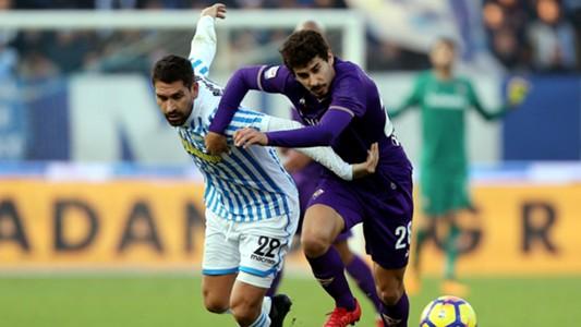 SPAL-Fiorentina Borriello Dias
