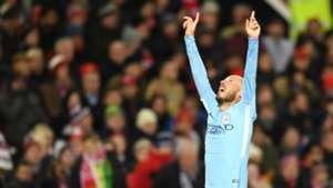 David Silva Manchester City United