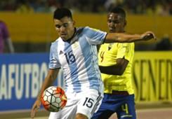 Marcos Acuña Ecuador Argentina Eliminatorias 10102017