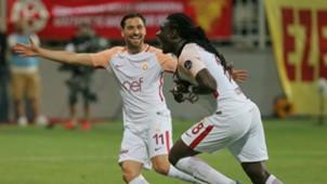 Galatasaray celebration Bafetimbi Gomis 05192018