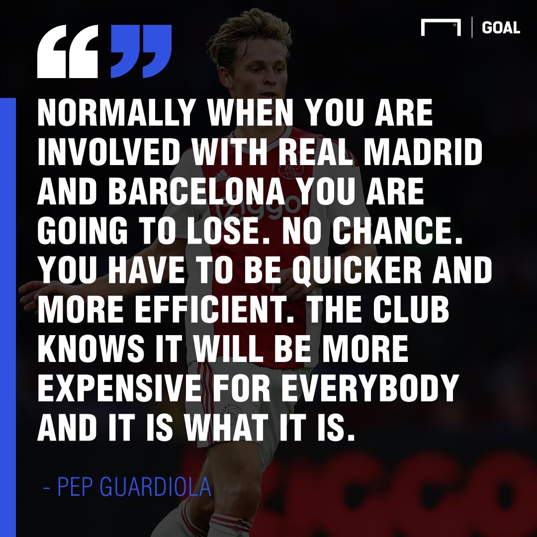 Pep quote