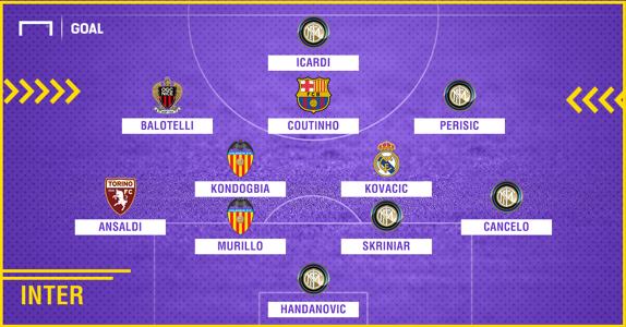 Inter 2010-2018 composition