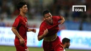 Olympic Việt Nam Olympic Palestine Giải giao hữu U23 quốc tế 2018