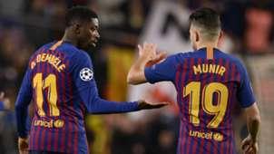 Ousmane Dembele Munir Barcelona Tottenham 111218