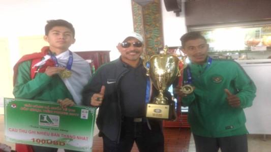 Rendy Juliansyah - Fakhri Husaini - Hamsah Lestaluhu - timnas Indonesia U-16 - timnas U-16
