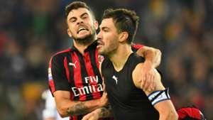 AC Mailand Milan Romagnoli Cutrone 04112018