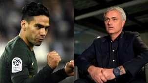 Radamel Falcao & José Mourinho