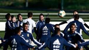 Argentina entrenamiento 21032019