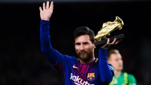 Lionel Messi Barcelona Golden Shoe