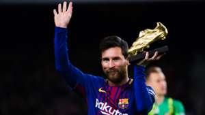 Lionel Messi Barcelona Golden Shoe