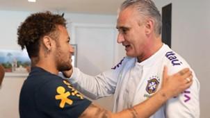 Neymar Tite aniversário 25 05 2018