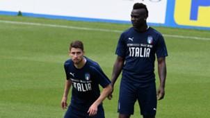 Jorginho Balotelli Italy