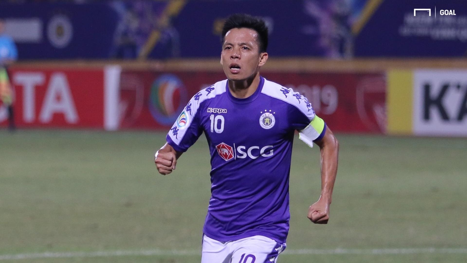 Nguyen Van Quyet Ha Noi FC vs April 25 | Inter-zone play-off finals | AFC Cup 2019