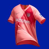 FC Barcelona Third Kit 2018/19