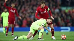 Ivan Rakitic Jordan Henderson FC Liverpool FC Barcelona Champions League 07052019