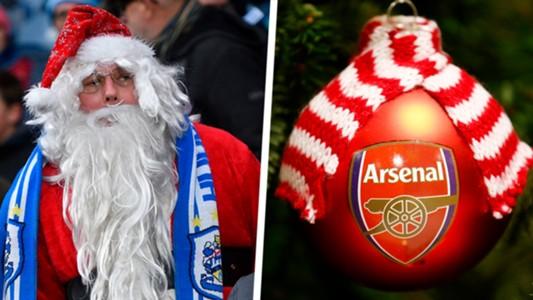 Premier League Christmas compsite