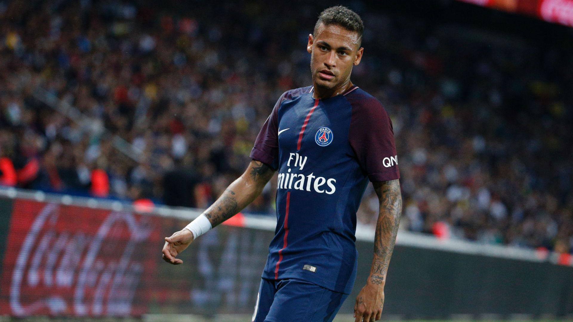 Neymar PSG ASSE Ligue 1 25082017