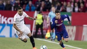 Coutinho Mercado Sevilla Barcelona LaLiga