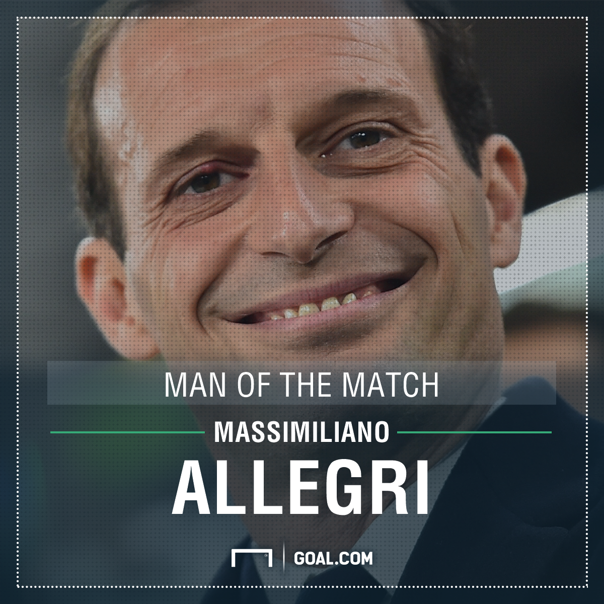 Massimiliano Allegri MOTM PS