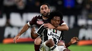 Juan Cuadrado Cristian Molinaro Juventus Torino