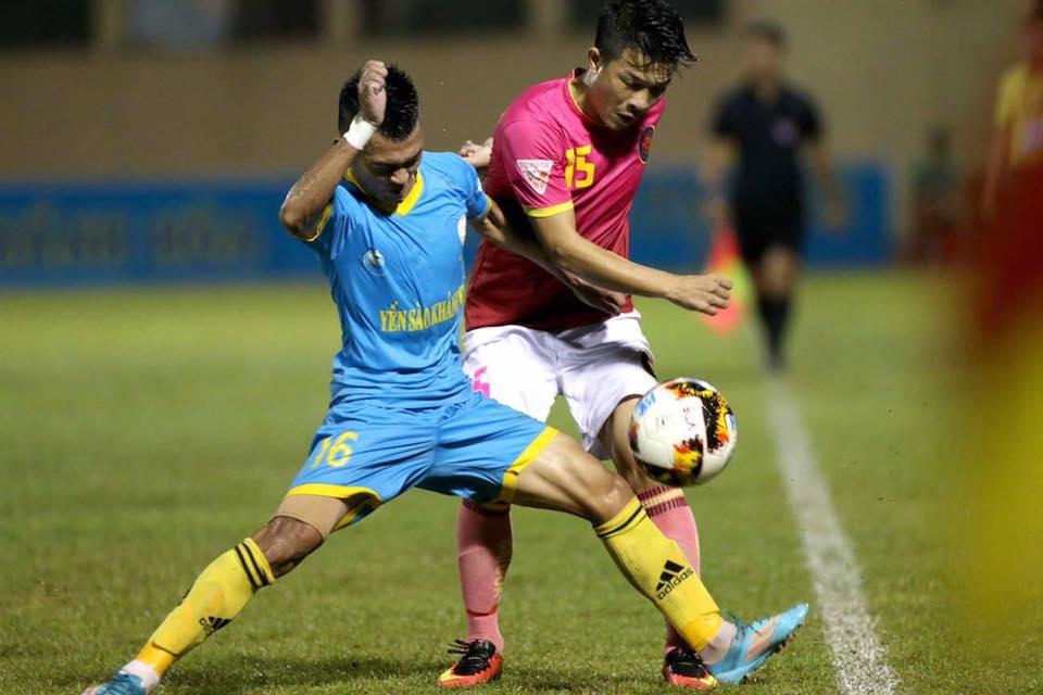 Sanna Khánh Hòa BVN Sài Gòn FC V.League 2017