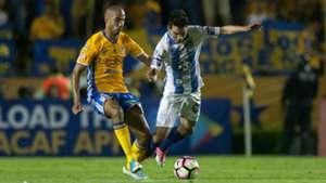 Guido Pizarro Hirving Lozano Tigres Pachuca Concachampions 2017