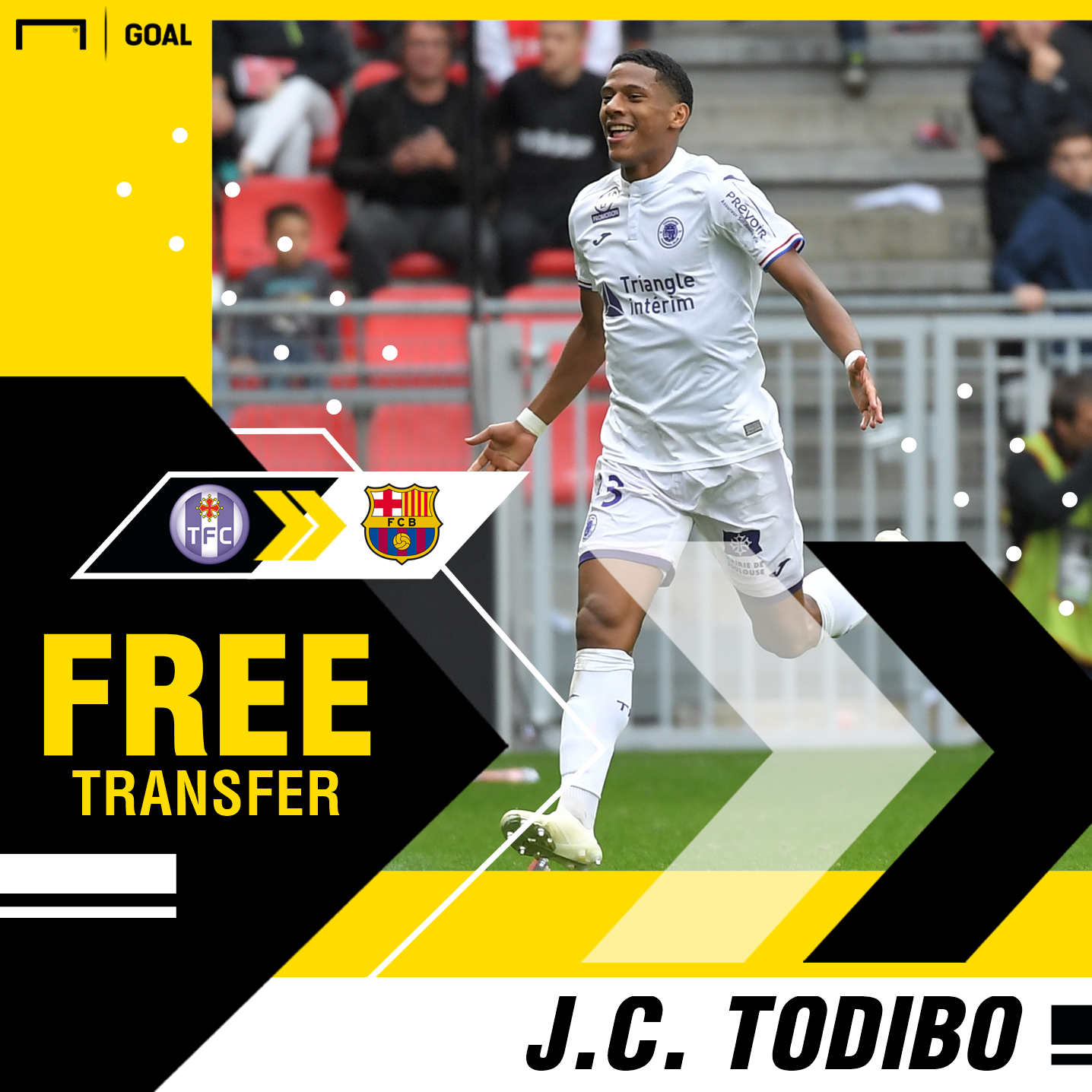 Barcelona: Jean-Clair Todibo of Toulouse to join Catalan club