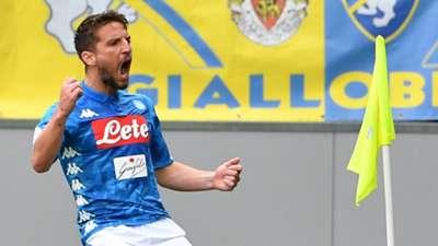 Dries Mertens Frosinone Napoli Serie A