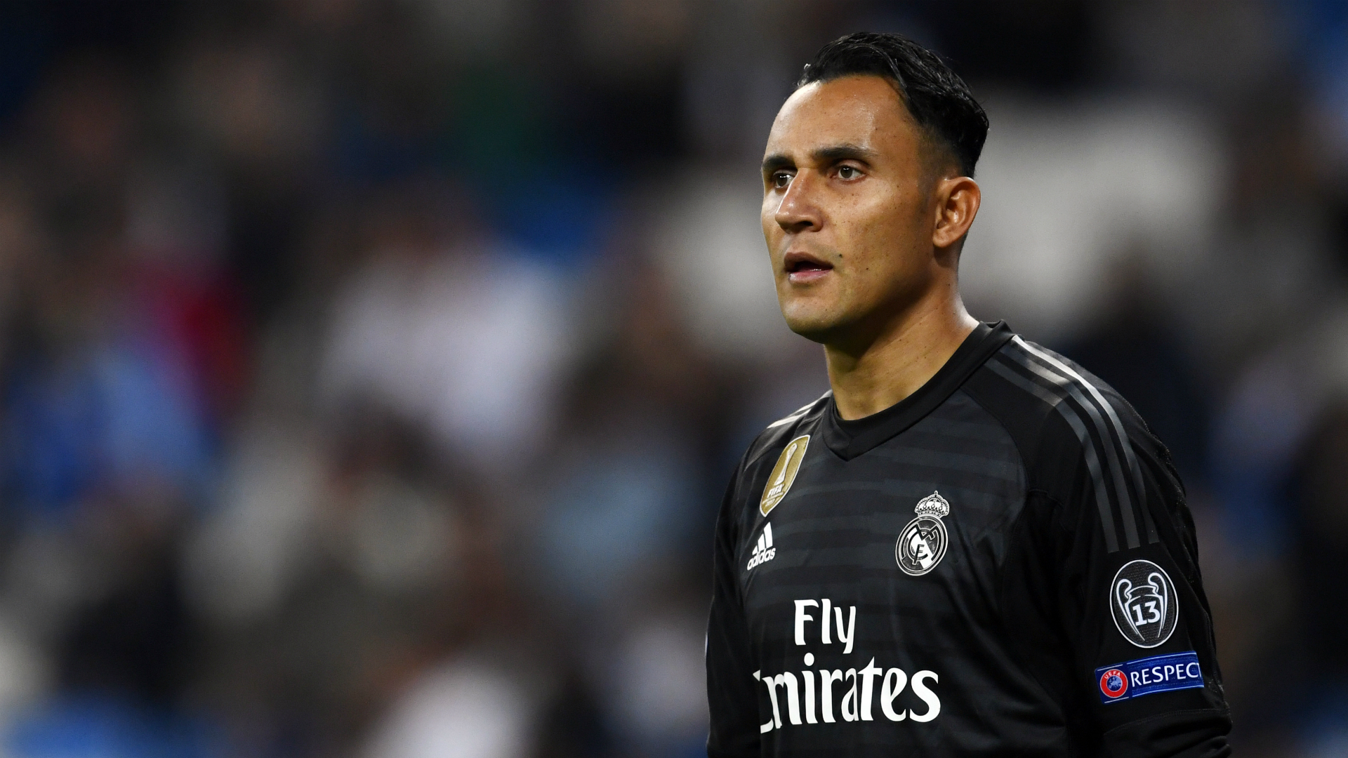 Keylor Navas Real Madrid Champions League 2018