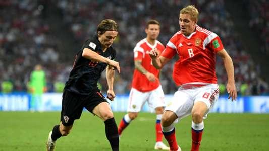 Luka Modric Russia Croatia World Cup 2018 070718