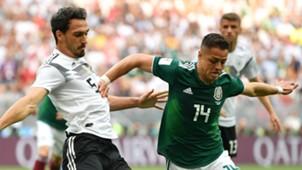 Mats Hummels Germany Javier Hernandez Mexico
