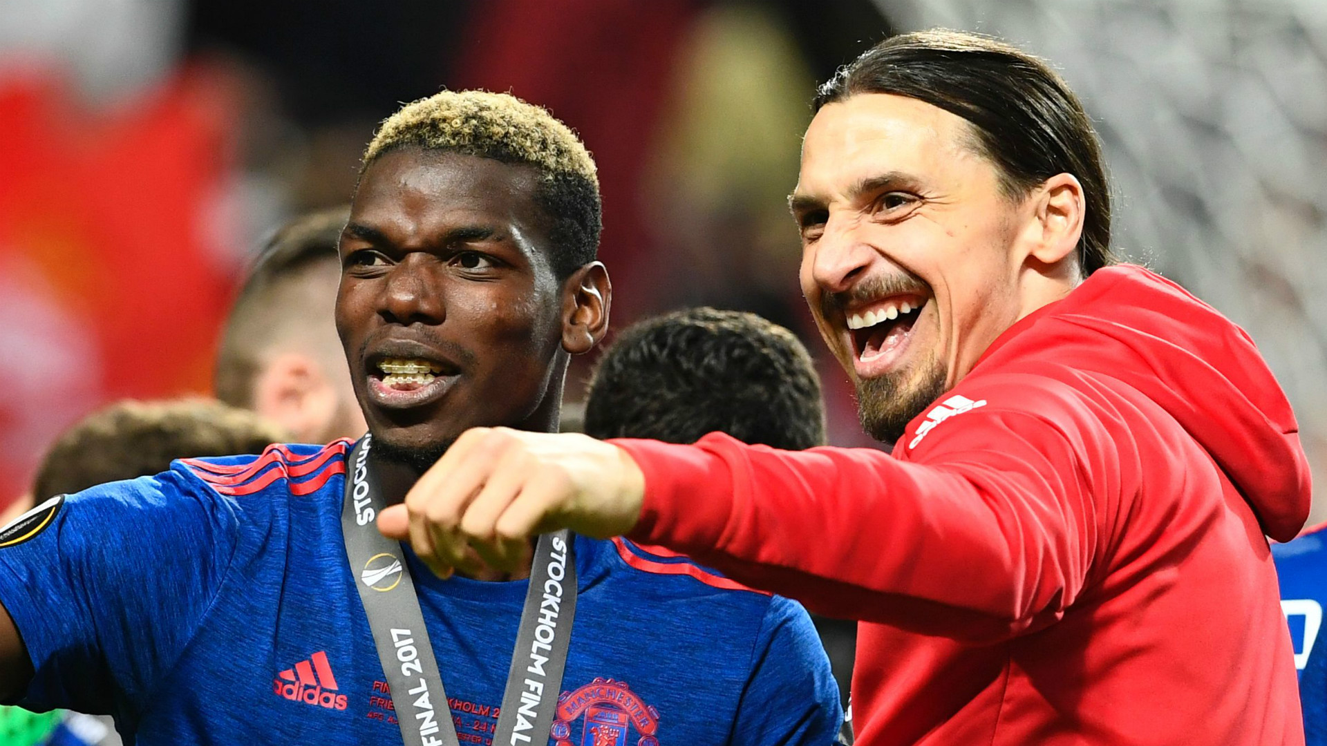 Paul Pogba Zlatan Ibrahimovic Manchester United