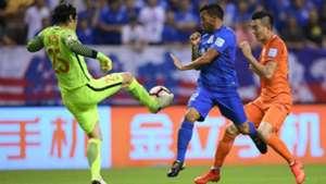 Carlos Tevez Shanghai Shenhua Shandong Luneng China FA Cup 02082017