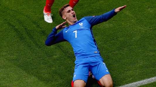 Antoine Griezmann France Republic of Ireland Euro 2016