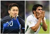 Shinji Kagawa Japan Yahya Al Shehri Saudi Arabia World Cup qualifying