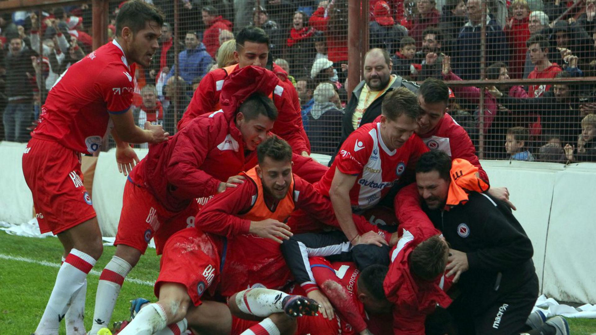 Argentinos Juniors vuelta a Primera Division 08072017