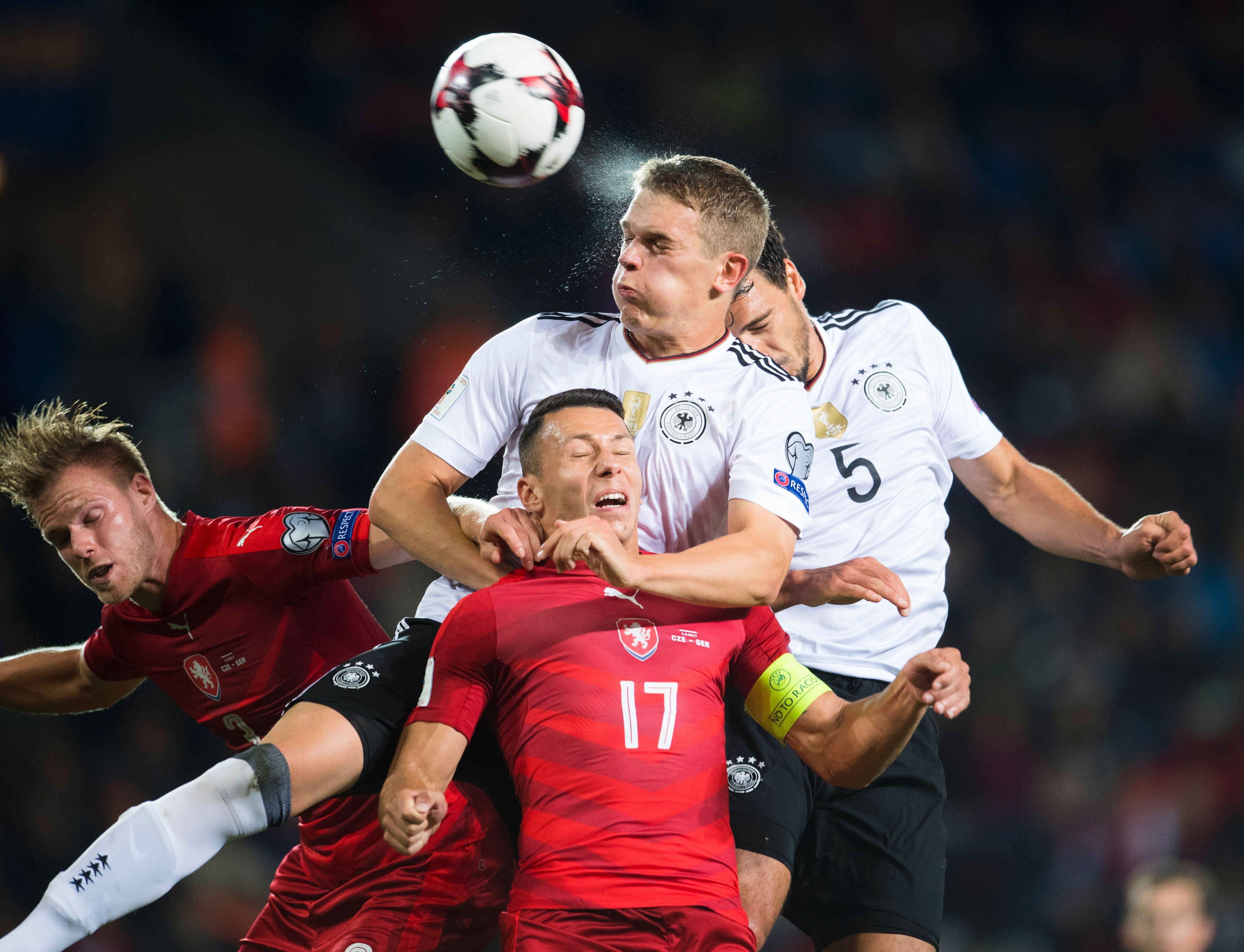 L'Allemagne arrache la victoire face à la République Tchèque
