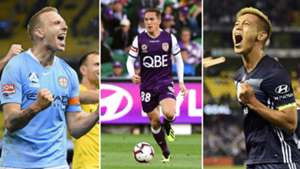 A-League TOTW split