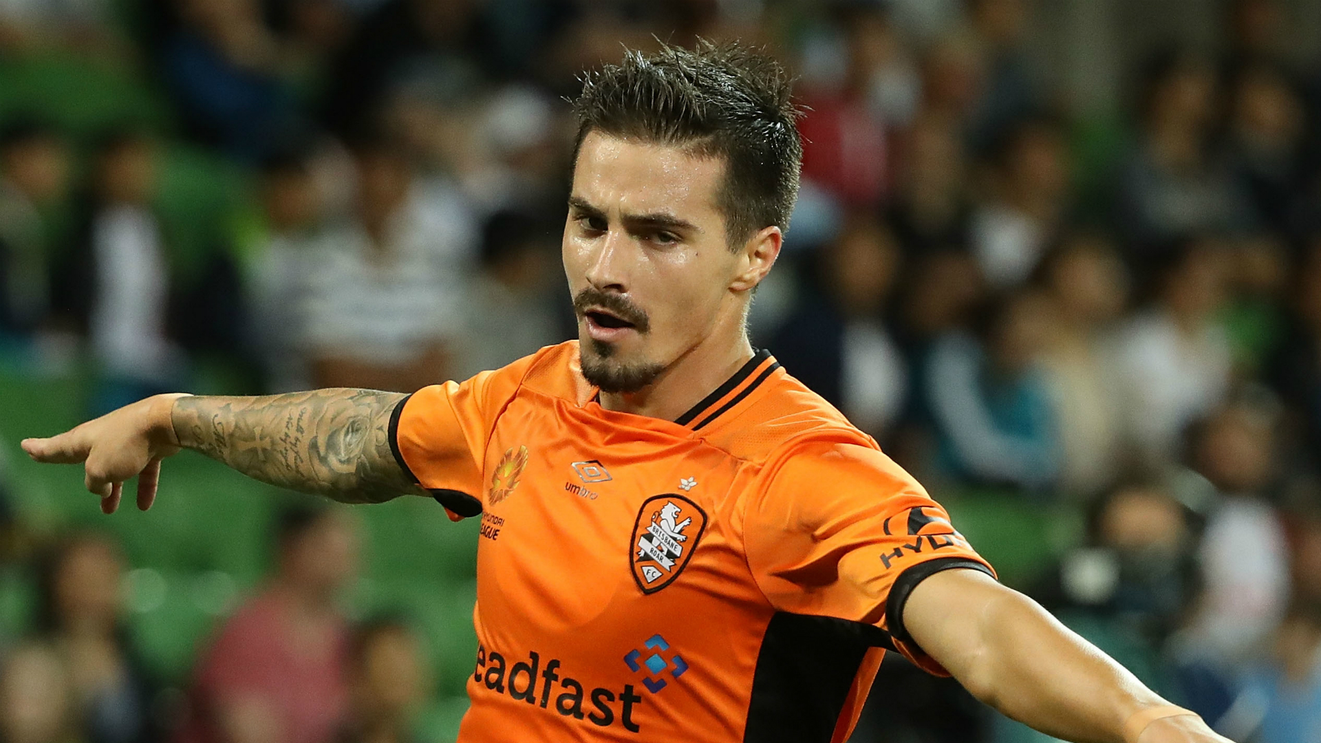 Jamie Maclaren Melbourne City v Brisbane Roar A-League 11022017
