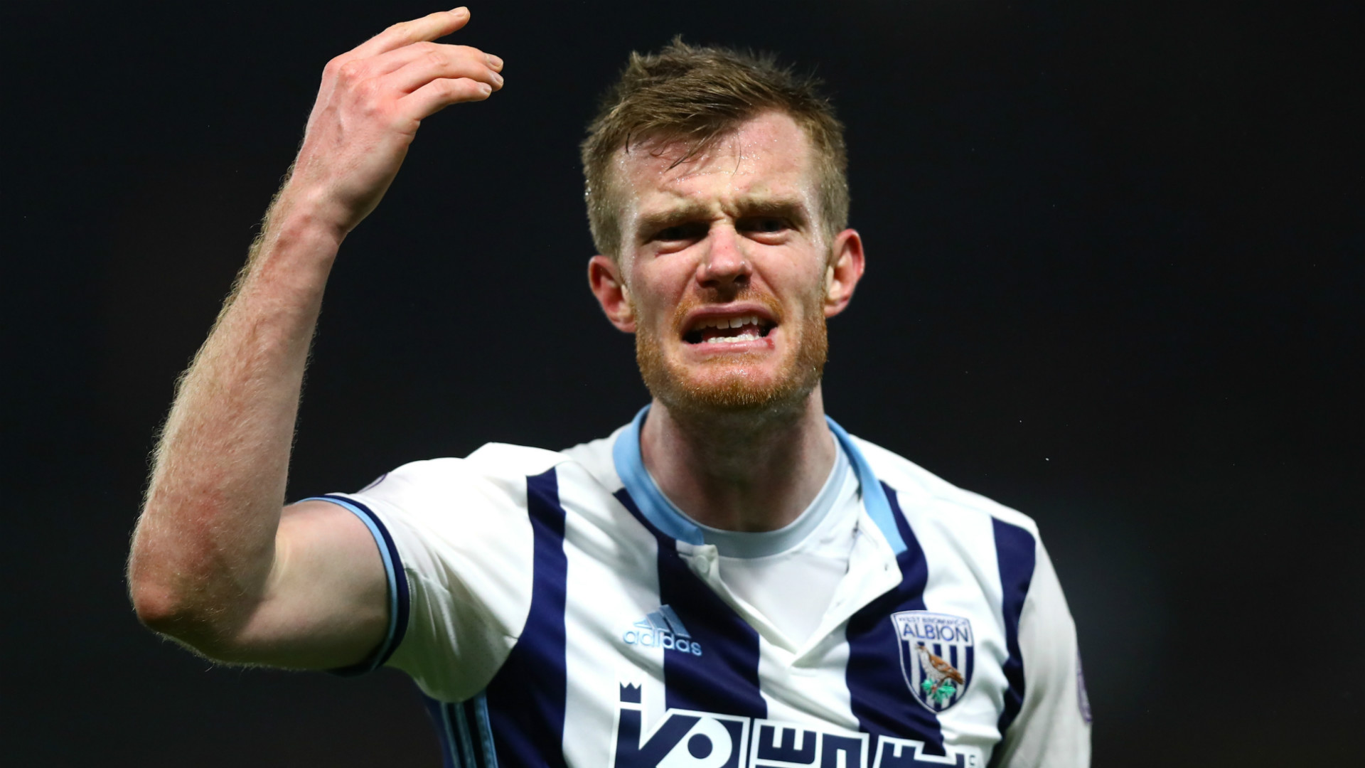 Chris Brunt West Brom Premier League