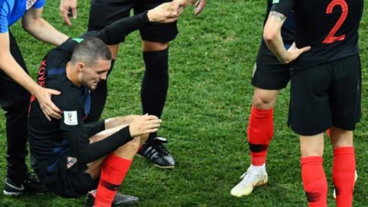 Mateo Kovacic Croatia Denmark World Cup 01072018
