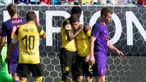 Christian Pulisic Liverpool Borussia Dortmund ICC 2018