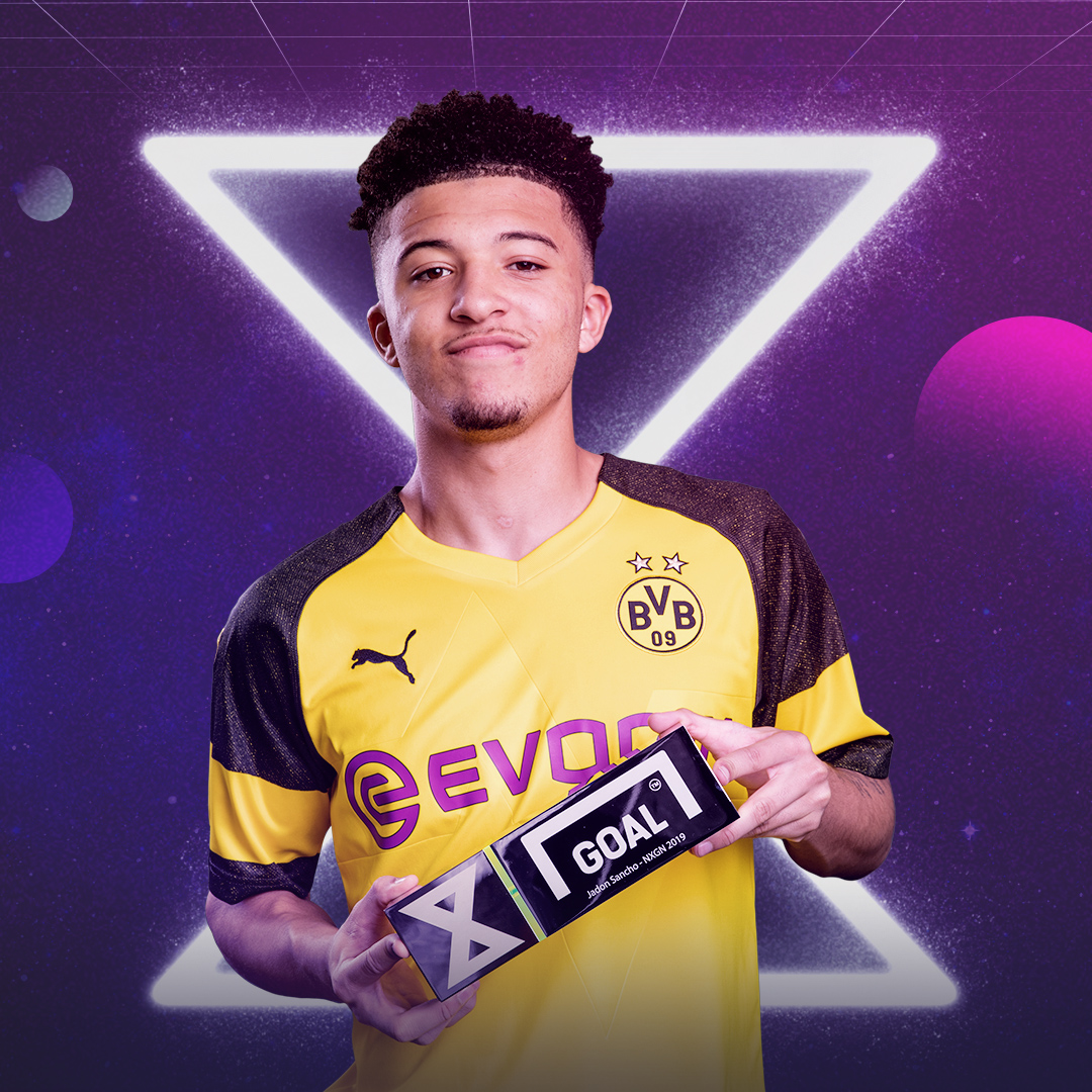 Jadon Sancho, NxGn 2019 winner, SQUARE
