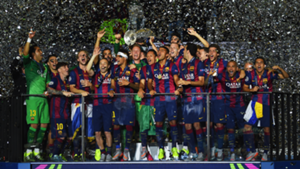 Barcelona 2015 Champions League winners