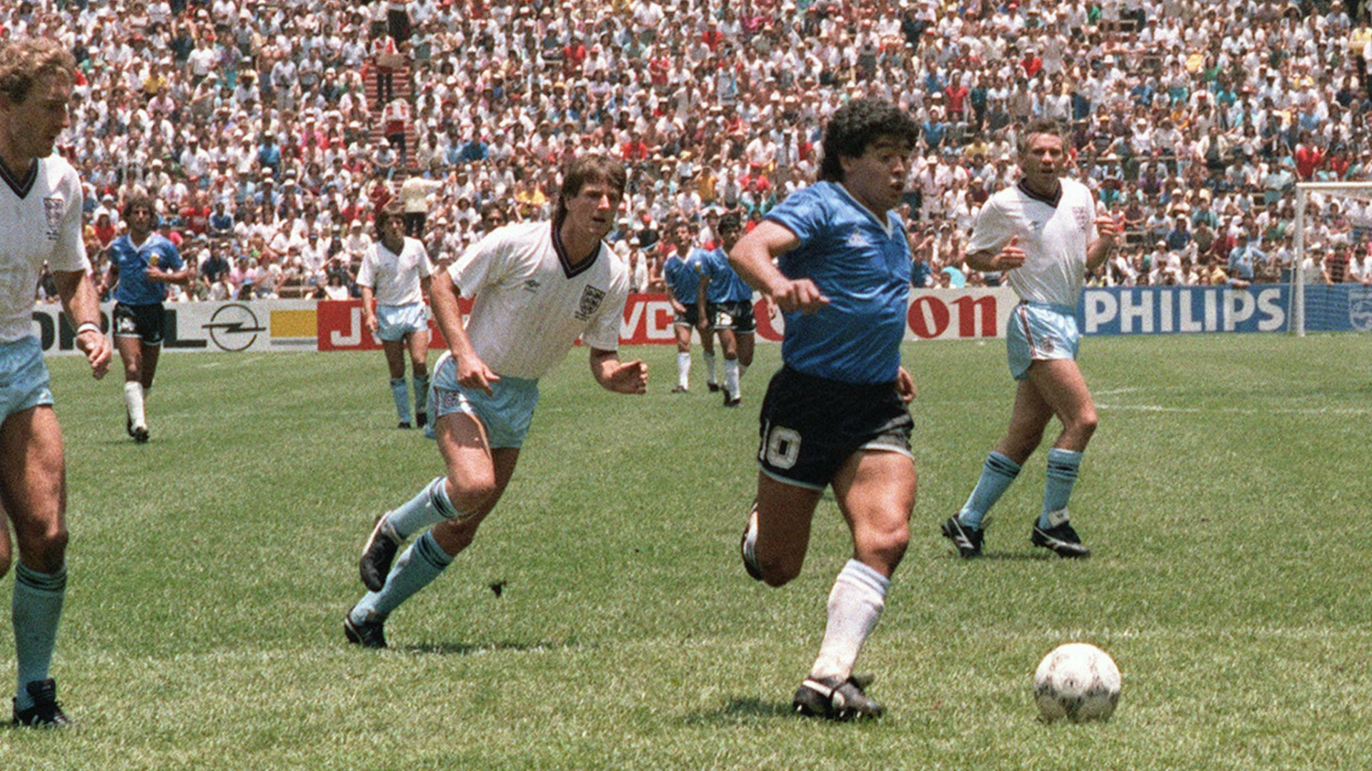 Argentina 1986 Diego Maradona Ingletarra