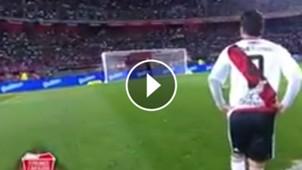 VIDEO PLAY Gol penal Marcelo Gallardo Despedida Cavenaghi 01072017