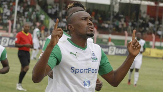 Gor Mahia finally scored the opener that turned out to be the winner courtesy of Jacques Tuyisenge.