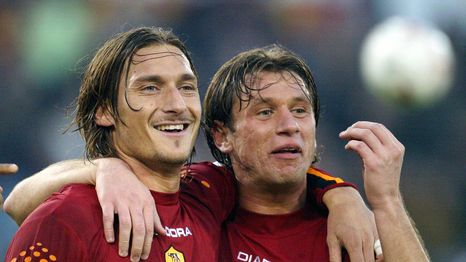 Antonio Cassano Francesco Totti