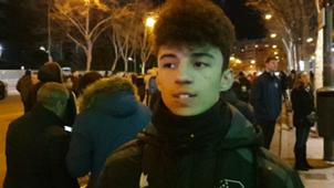 Vox Pop Real Madrid fan at Santiago Bernabeu